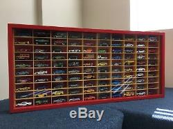 Display case cabinet for 1/64 diecast scale cars (hot wheels, matchbox) 100N2C