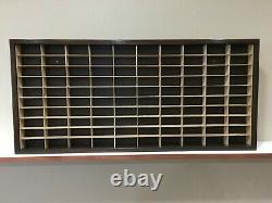 Display case cabinet for 1/64 scale cars (hot wheels, matchbox) 100N2Cnd