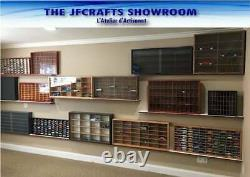 Display case cabinet shelves for diecast 1/64 scale car 7C1C