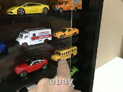 Display case cabinet shelves for diecast 1/64 scale car 7C2C