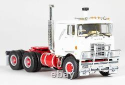 Drake Z01503 MACK F700 6x4 Prime Mover White Red Scale 150