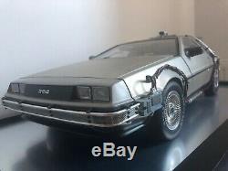 Eaglemoss Back to the Future DeLorean 1/8 Scale Model + Magazines, Parts & More