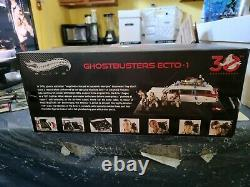 Ecto-1 (Ghostbusters 30th Anniversary) 118 Scale Hot Wheels Elite Mattel 2014