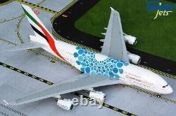 Emirates A380 Blue Expo 2020 A6-EOC Gemini Jets G2UAE779 Scale 1200 IN STOCK