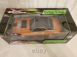 Ertl The Fast And The Furious 1970 Dodge Challenger 118 Scale Diecast Movie Car