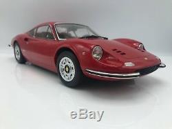 Ferrari Dino 246GT 1973 rot 112 KK-Scale NEW