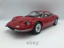 Ferrari Dino 246GT 1973 rot 112 KK-Scale NEW Xmas Auktion