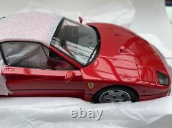 Ferrari F40 diecast model road sports car red 118th scale Kyosho 08411R BOX