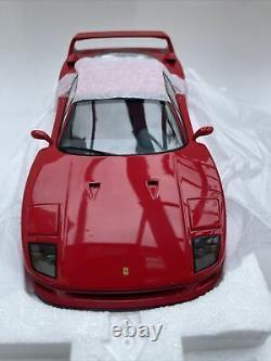 Ferrari F40 diecast model road sports car red 1987 1992 118 scale Kyosho 08411R