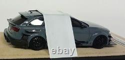 GLM 1/43 Scale Audi RS6 DTM Replica 2017 Nardo Grey Resin Model Car