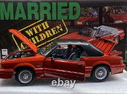 GMP 1/18 Scale Mustang GT Convertiable MARRIED WITH CHILDREN VERY RARE