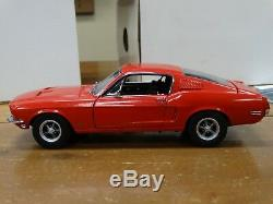 GMP 1968 Ford Mustang GT Fastback Red Custom 124 Scale Diecast #17 of 350 Car