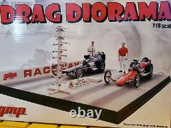 GMP Drag Strip Raceway Diorama 118 Scale Diecast Model Dragster Race Car Layout