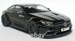 GT Spirit 1/18 Scale Prior Design Mercedes Benz S Class Coupe AMG Black Car