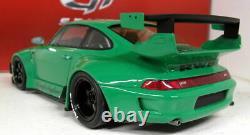 GT Spirit 1/18 Scale Resin GT074 Porsche 993 RWB 911 Green