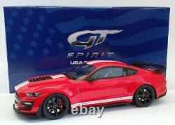GT Spirit 1/18 Scale Resin US021 Ford Shelby GT500 2020 Race Red