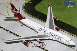 Gemini Jets 1200 Scale Virgin Atlantic Boeing 747-400 G-VBIG G2VIR766 IN STOCK