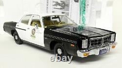 Greenlight 1/18 Scale 1977 Dodge Monaco Police + Terminator Diecast model car