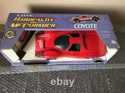 Hardcastle And McCormick 1983 ERTL 116 Scale Diecast Coyote with Figure Boxed