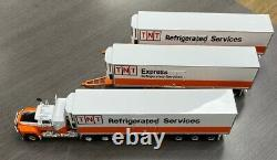 Highway Replicas Mack Tnt Express Refrigerated Road Train 164 Scale Model Truck