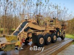 Hobby Boss M1070 & M1000 HET Tank Tranporter Built Model Kit 135 Scale Iraq War