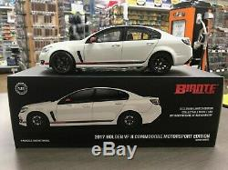 Holden Vf Commodore Motorsport Edition 2017 Heron White 118 Die Cast Scale Mode