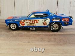 Hot Wheels Legends Tom McEwen The Snake & Mongoose 124 Scale Diecast Funny Car