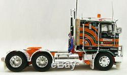 Iconic Replicas Kenworth K100G 6x4 Prime Mover Kitco Transport Scale 150