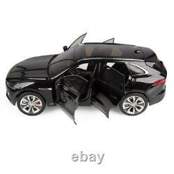 JAGUAR F-PACE 118 SCALE MODEL CAR ULTIMATE BLACK Jaguar Part No. JDDC975BKW