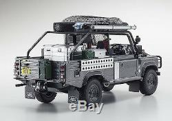 KYOSHO 8902TR LAND ROVER DEFENDER resin model TOMB RAIDER edition 118th scale