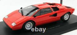 Kyosho 1/18 Scale Model C09531R Lamborghini Countach LP400 Red
