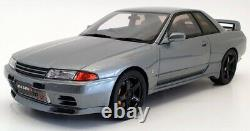 Kyosho 1/18 Scale Model Car KSR18047GR Nissan Skyline GTR R32 Nismo Grey