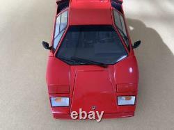 Kyosho LAMBORGHINI COUNTACH LP5000S Red No. 08322RR 118 SCALE DIE-CAST MODEL