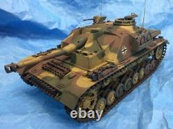 LATE STUG IV FULLY BUILT 1/18 Scale NOT 1/16 Custom Ultimate Soldier 21st Tank