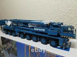 Liebherr LTM1400 Mobile Crane Sarens YCC 150 Scale Model #YC790-2