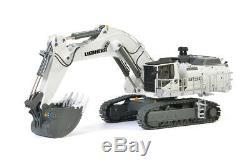 Liebherr R9150 Mining Excavator White WSI 150 Scale Diecast Model #04-2023 New