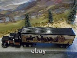 Matchbox Peterbilt Smokey and the Bandit Snowman Truck 1/64 Scale Custom