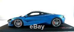 McLaren 720S in Aurora Blue Resin Model in 118 Scale by Topspeed