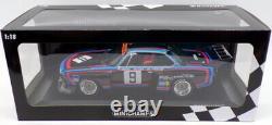 Minichamps 1/18 Scale 155 762609 BMW 3.5 CSL 1000Km Nurburgring 1976