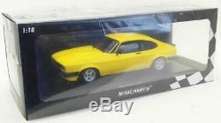 Minichamps 1/18 Scale Model Car 155 788601 1978 Ford Capri 3.0 Yellow