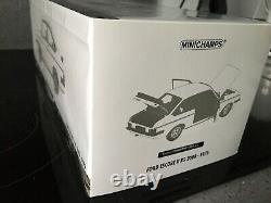 Minichamps Rare 1/18 scale 150 084300 Ford Escort Mk2 RS 2000 1976 White