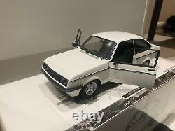 Minichamps Rare 1/18 scale Ford Escort Mk2 RS 2000 1976 White