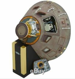 NASA Apollo 11 Capsule Museum Quality Model 1/25 Scale with Display Stand