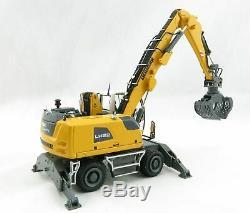 NZG 1001 LIEBHERR LH22 Mobile Material handler Scale 150 New 2019