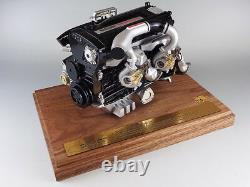 Nissan Skyline Gtr R32 Rb26dett 2.6l Turbo Engine 1/6 Scale Model Made In Japan