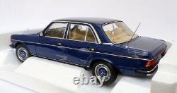Norev 1/18 Scale Model Car 183710 1982 Mercedes Benz 200 Blue