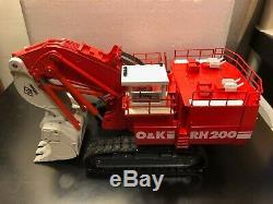 O&K RH200 Mining Shovel Scale 150 Die Cast Model Boxed Rare