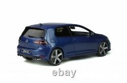OTTO MOBILE 333 VW Mk. 7 GOLF R resin model road car Lapiz blue 2014 118th scale