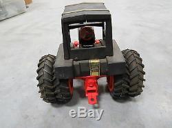 Original Vintage Case 1070 Black Knight Demonstrator Tractor Ertl 1/16 scale