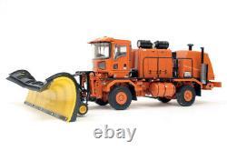Oshkosh Truck with Snow Blower & Snow Plow Orange TWH 150 Scale #072-01056 New